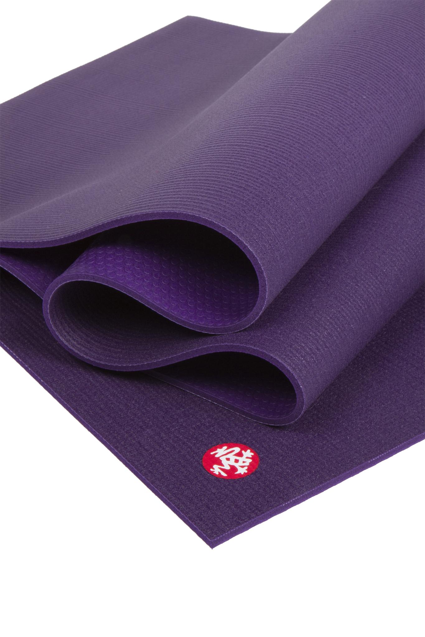 Коврик для йоги Manduka The PRO Mat 6мм (4,1 кг, 215 см, 6 мм, фиолетовый, 66см (Black Magic))