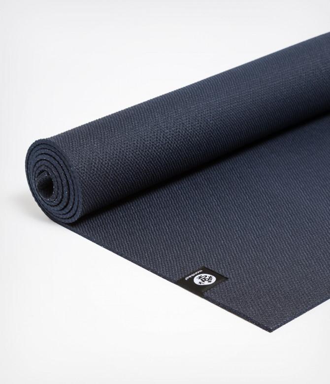Коврик для йоги Manduka X Mat 5мм (1.8 кг, 180 см, 5 мм, темно-синий) коврик для йоги manduka the pro mat 6мм 3 6 кг 180 см 6 мм бирюзовый 66см harbour