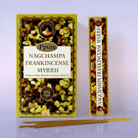 Благовония franklincense myrrh Ppure (15 г) благовония масала мирра myrrh masala hem 0 05 кг 15 г
