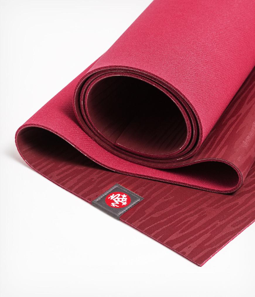 Коврик для йоги Manduka EKO Lite Mat 4мм из каучука (2,2 кг, 180 см, 4 мм, бордовый, 61см (Verve))