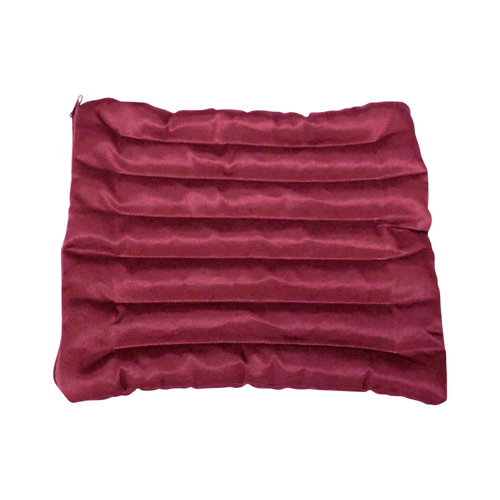 цены Подушка для стула (3 см, 40 см, бордовый, 40 см)