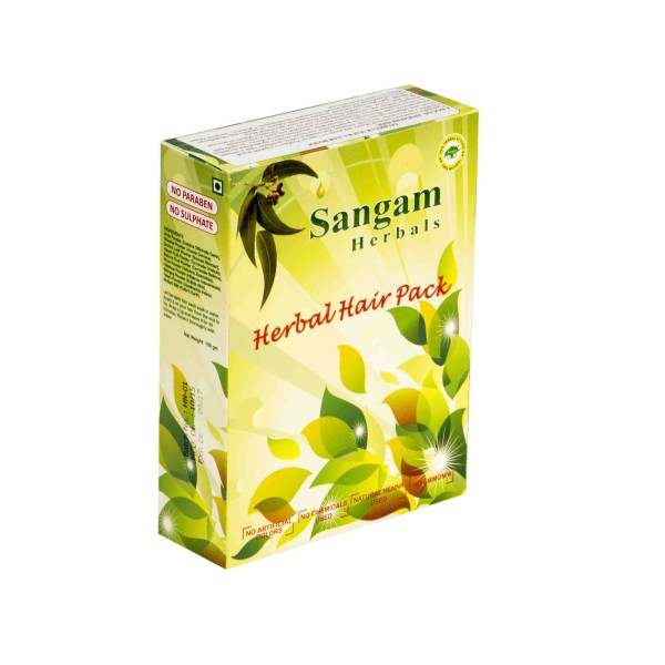 Травяная маска для волос Sangam herbals (100 г) цены онлайн