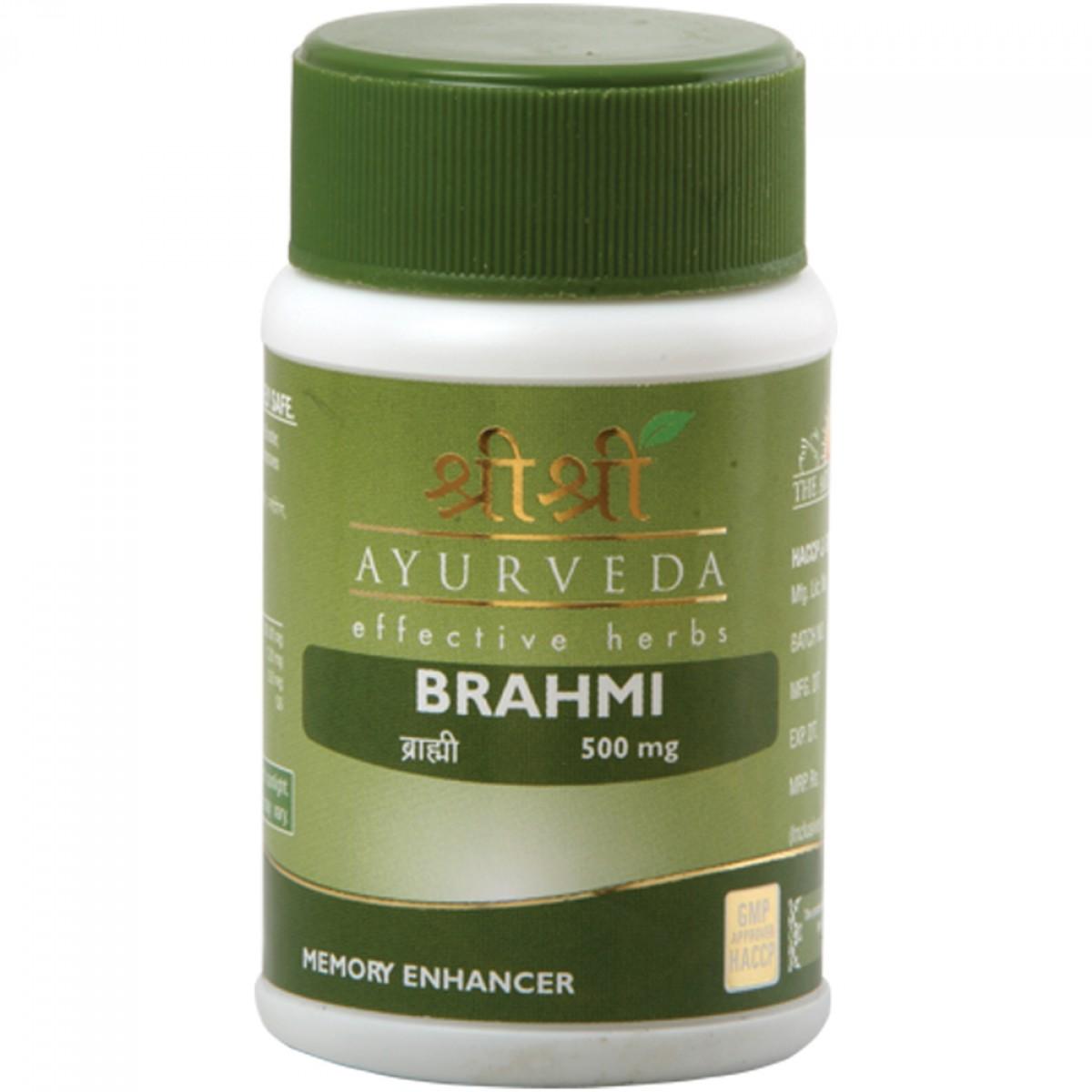 Брами  в таблетках  Brahmi Sri Sri (60 шт )