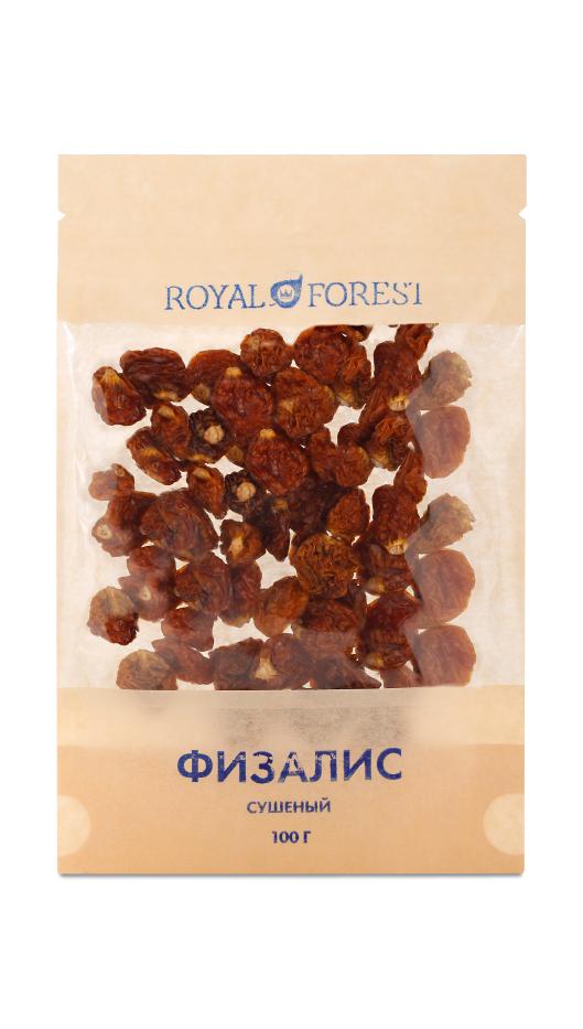 Физалис сушенные ягоды Royal Forest (100 г)
