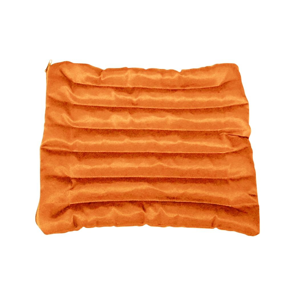 Подушка для стула (3 см, 35см, оранжевый, 45 см)