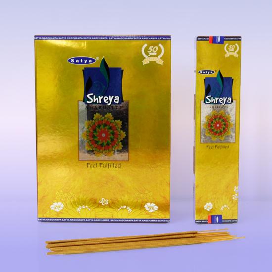 Благовоние Shreya Satya, серия agarbatti (20 г)