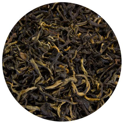 Фото - Чай рассыпной красный дянь хун 50г (50 г) дянь хун мао фэн красный чай из дянь си ворсистые пики