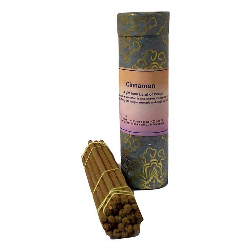 Благовония бутанские Cinnamon в тубусе 27 шт (14 см) благовония бутанские дзамбала zambala в тубусе 21шт