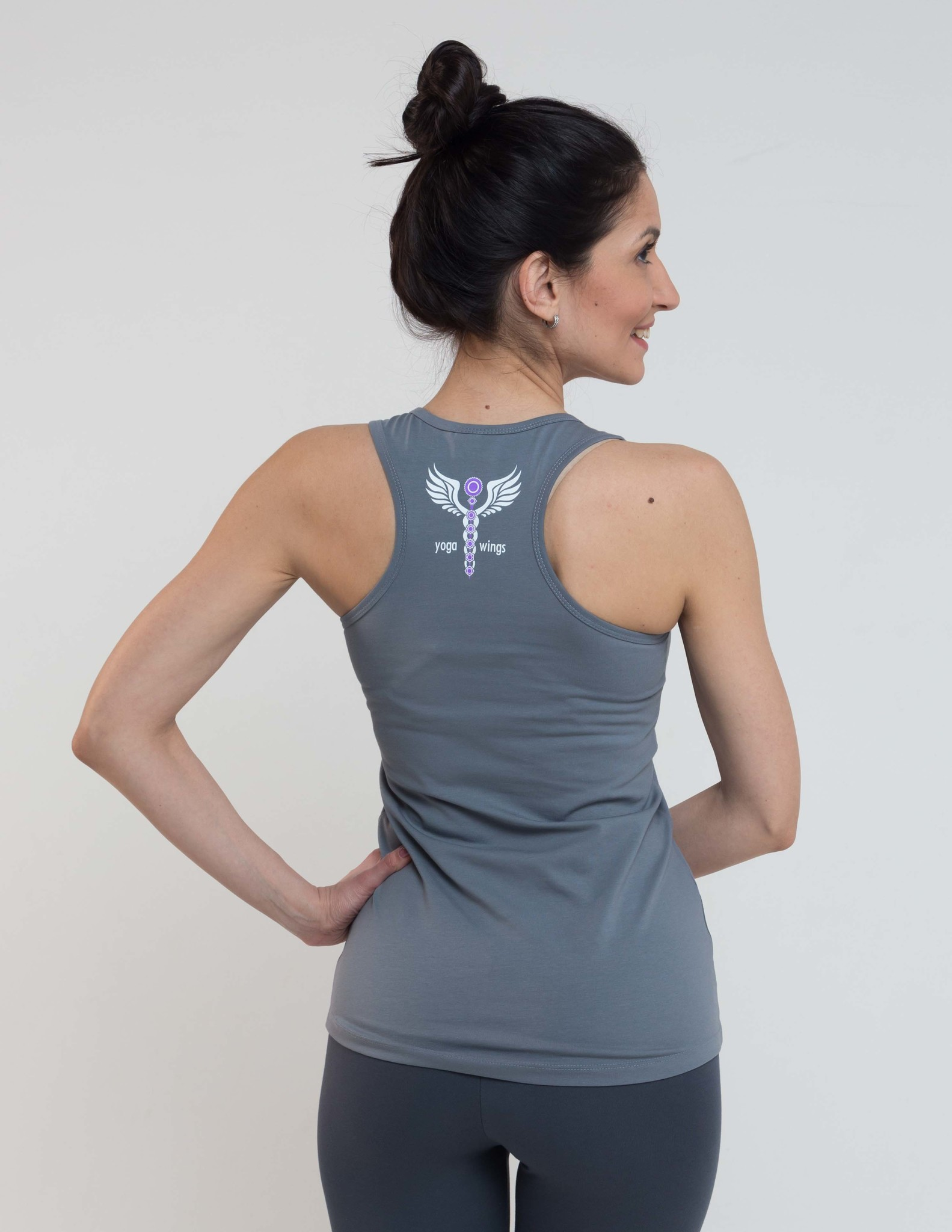 Топ женский Yoga Wings YogaDress (0.2 кг, M (46), бордо) женский комбинезон s m l