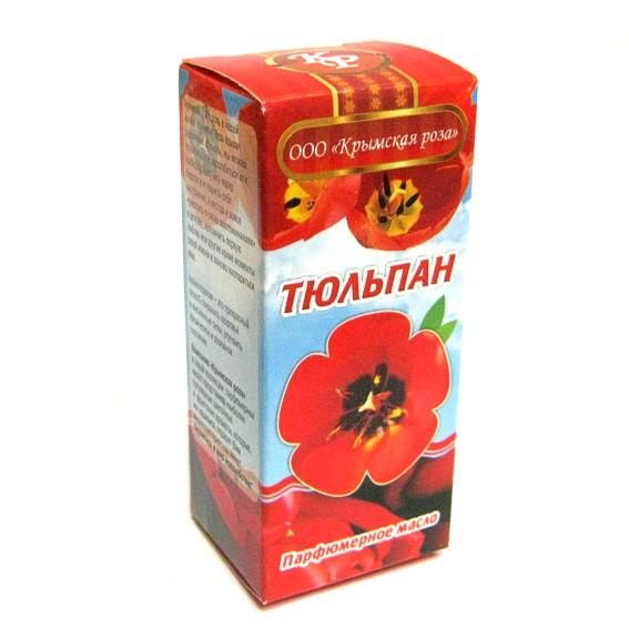 Тюльпан масло парфюмерное 10мл Крымская Роза