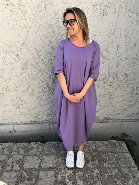 Платье бохо Рамайога (0,2 кг, OS (42-46), сиреневый) афгани для йоги спираль хлопок 0 3 кг os 42 46 сиреневый