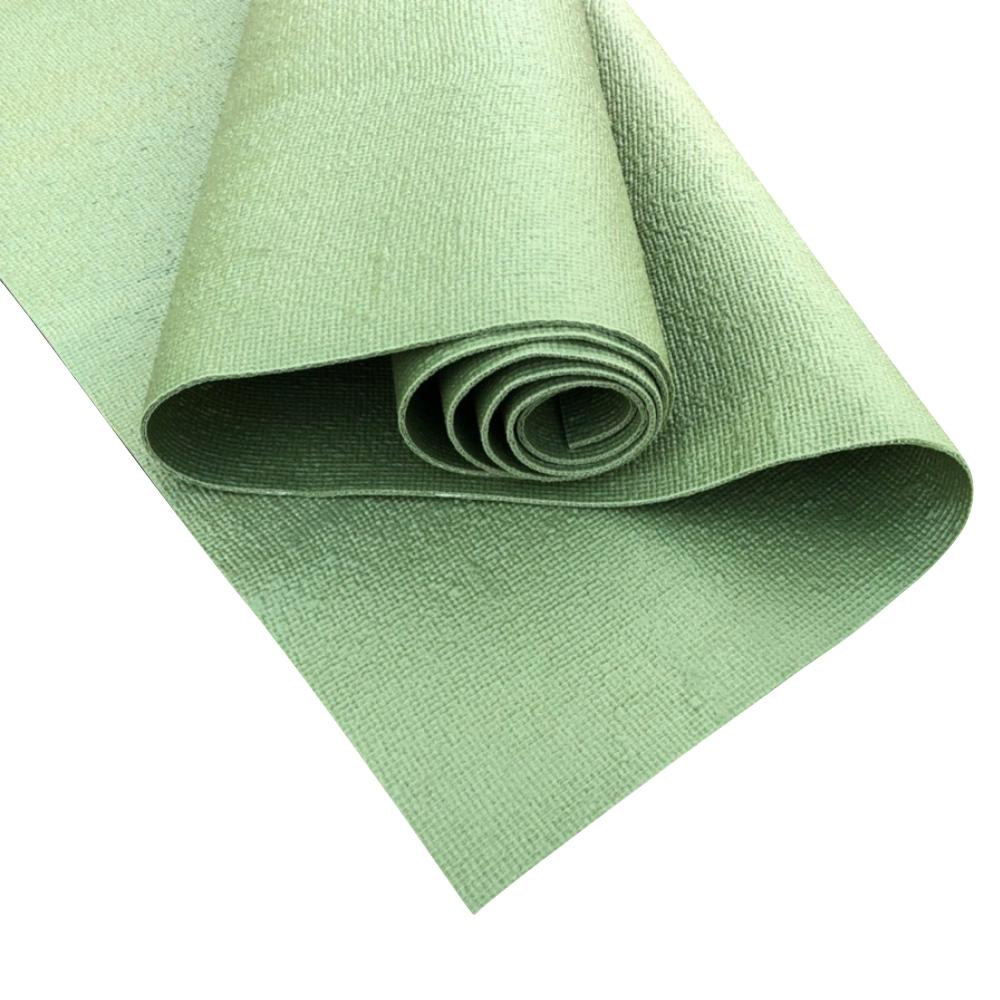 Гибридный коврик для йоги EON Mat 4 мм (2 кг, 183 см, 4 мм, темно-зеленый, 60 см) коврик для йоги green 4мм 0 8 кг 173 см 4 мм зеленый 60 см