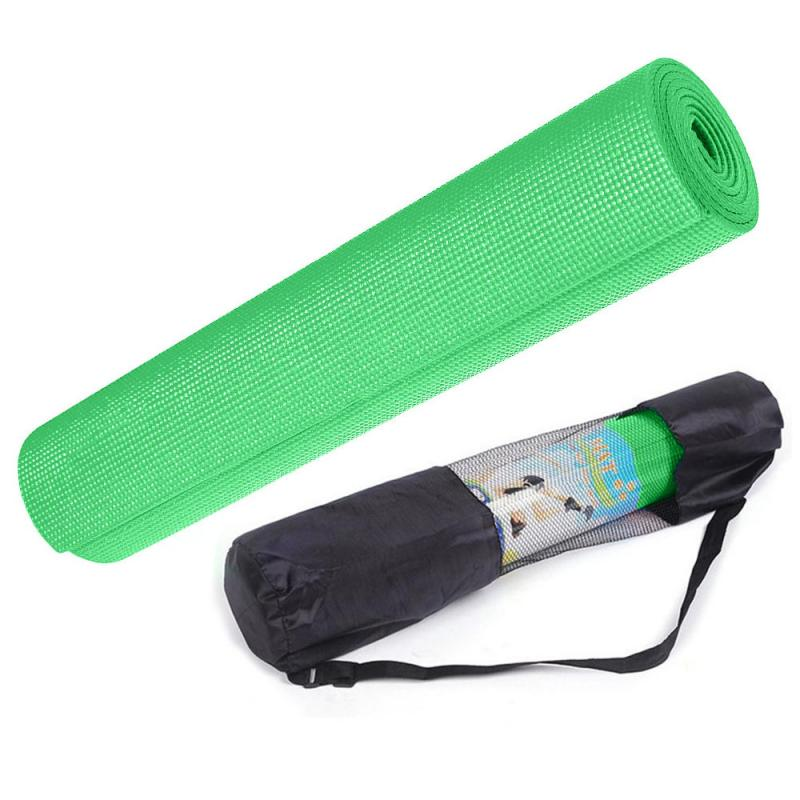 цена на Коврик для йоги Green 4мм (0.8 кг, 173 см, 4 мм, зеленый, 60 см)