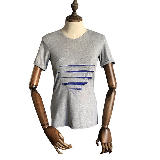 Футболка для йоги женская Yoga Heart Рамайога (0,3 кг, XS (42), серый) футболка для йоги женская free рамайога ramayoga голубой 0 3 кг 42 46