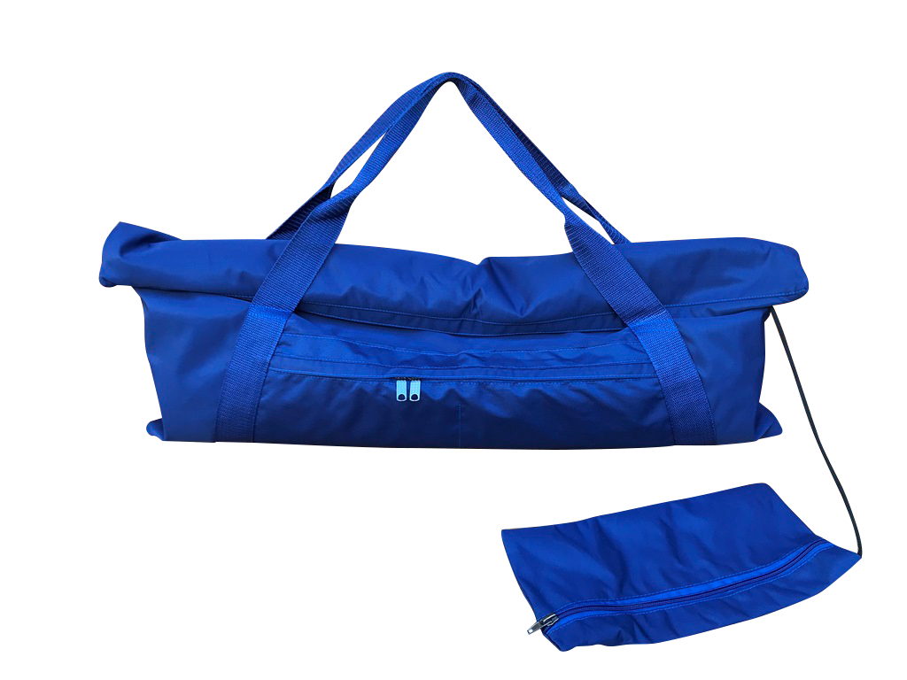 Сумка для коврика Fold Yoga Bag (0,3 кг, темно-синий)
