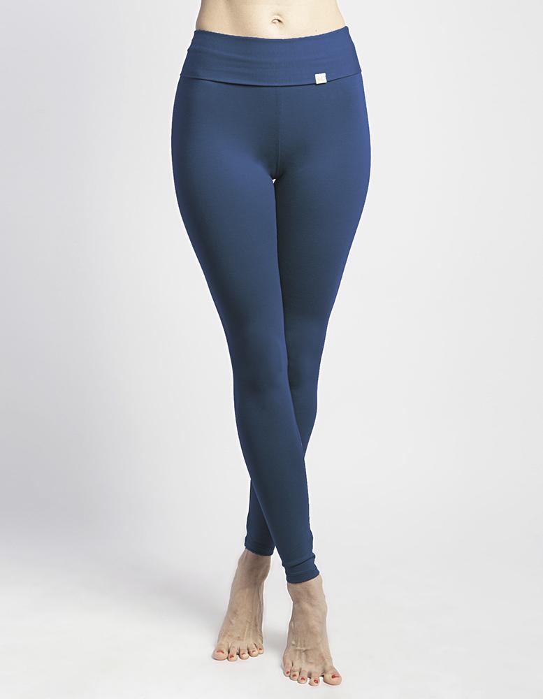 Лосины женские длинные YogaDress (0,3 кг, S (44), индиго)