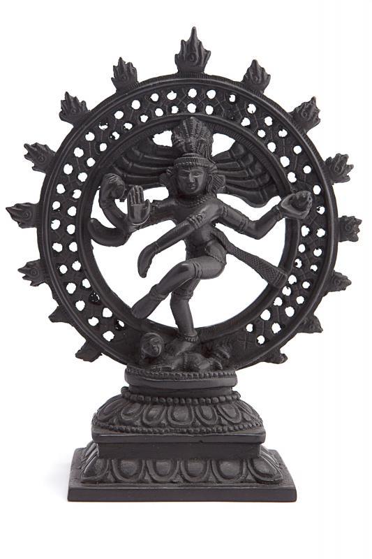 Статуя Шива Натарадж из керамики 22см (090144)