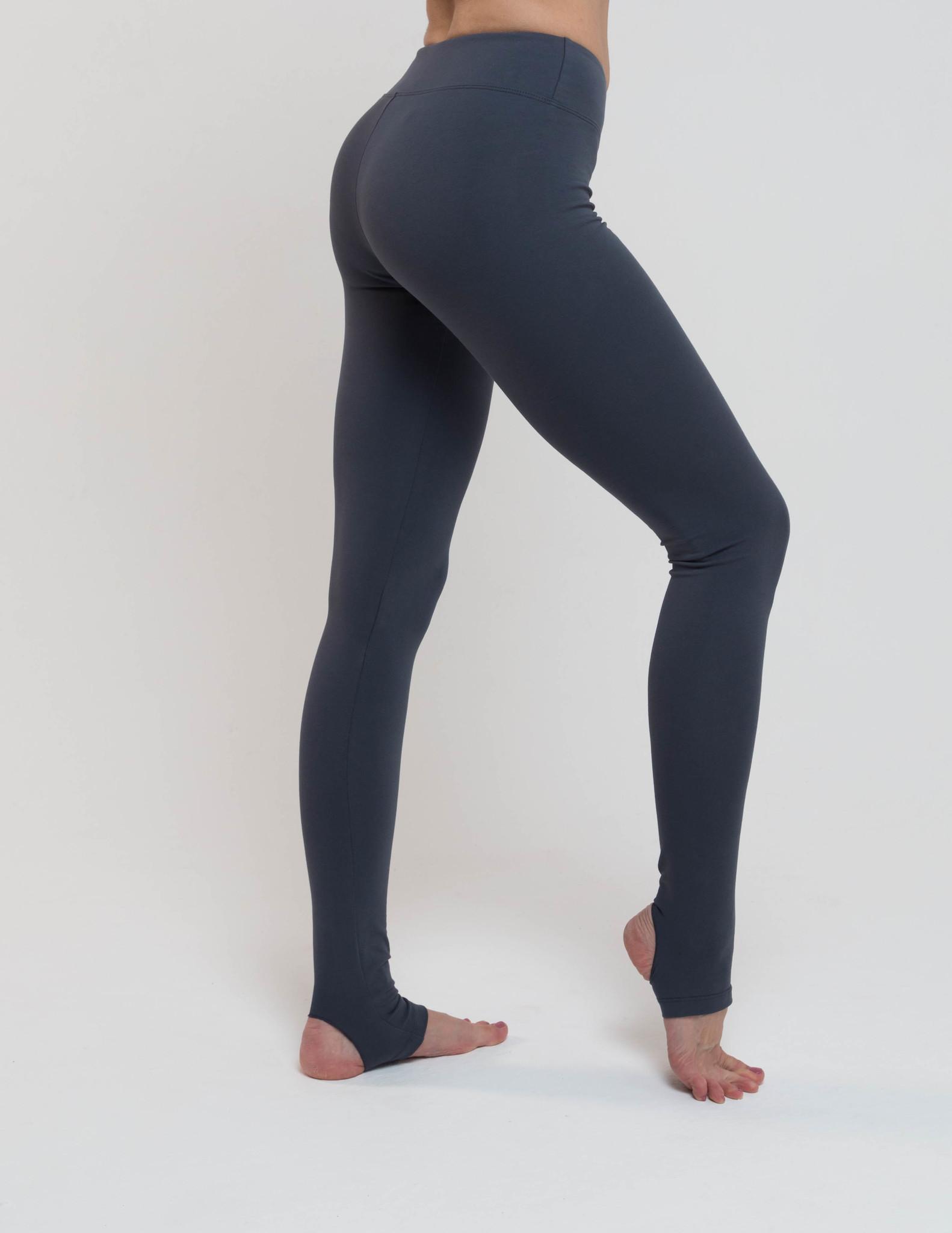 Тайтсы женские c открытой пяткой Miss Incredible YogaDress (0,3 кг, XL (50), темно-серый)