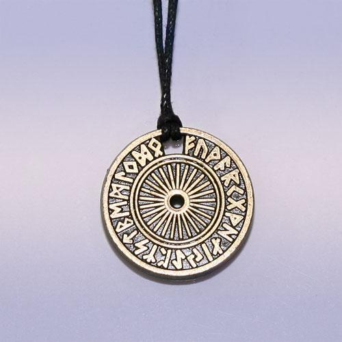 Амулет Рунический круг, для принятия важных решений, футарк (№58)