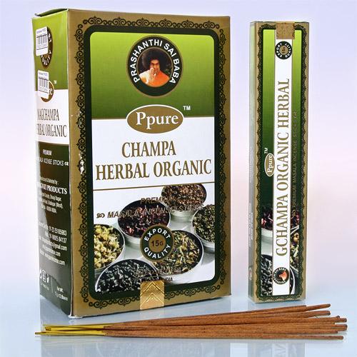 Благовония травы herbal organic Ppure (0.1 кг, 15 г) благовония лаванда lavender ppure