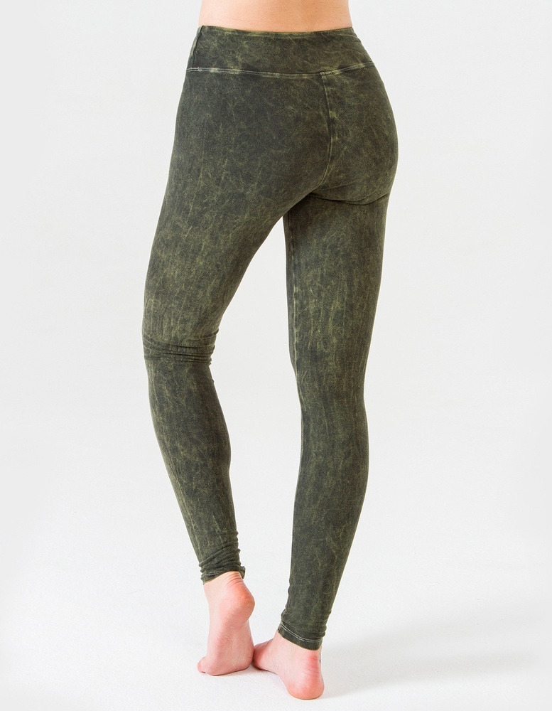Леггинсы Forest YogaDress (0,3 кг, M(46), темно-зеленый)