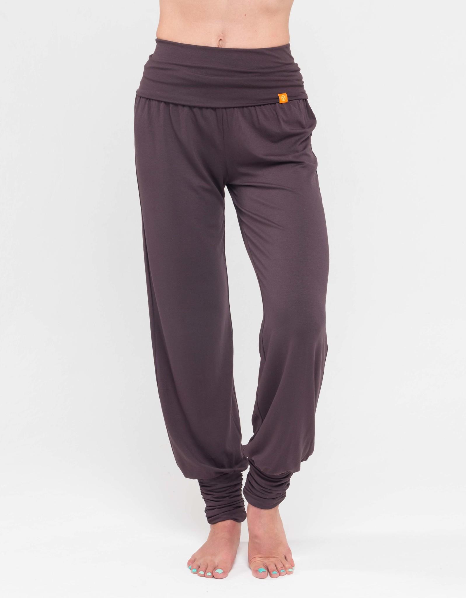 Штаны- гаремы длинные YogaDress (0,3 кг, S (42-44), какао/мокко) цена