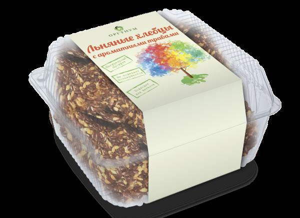 Хлебцы с ароматными травами, ОРГТИУМ (85 г)