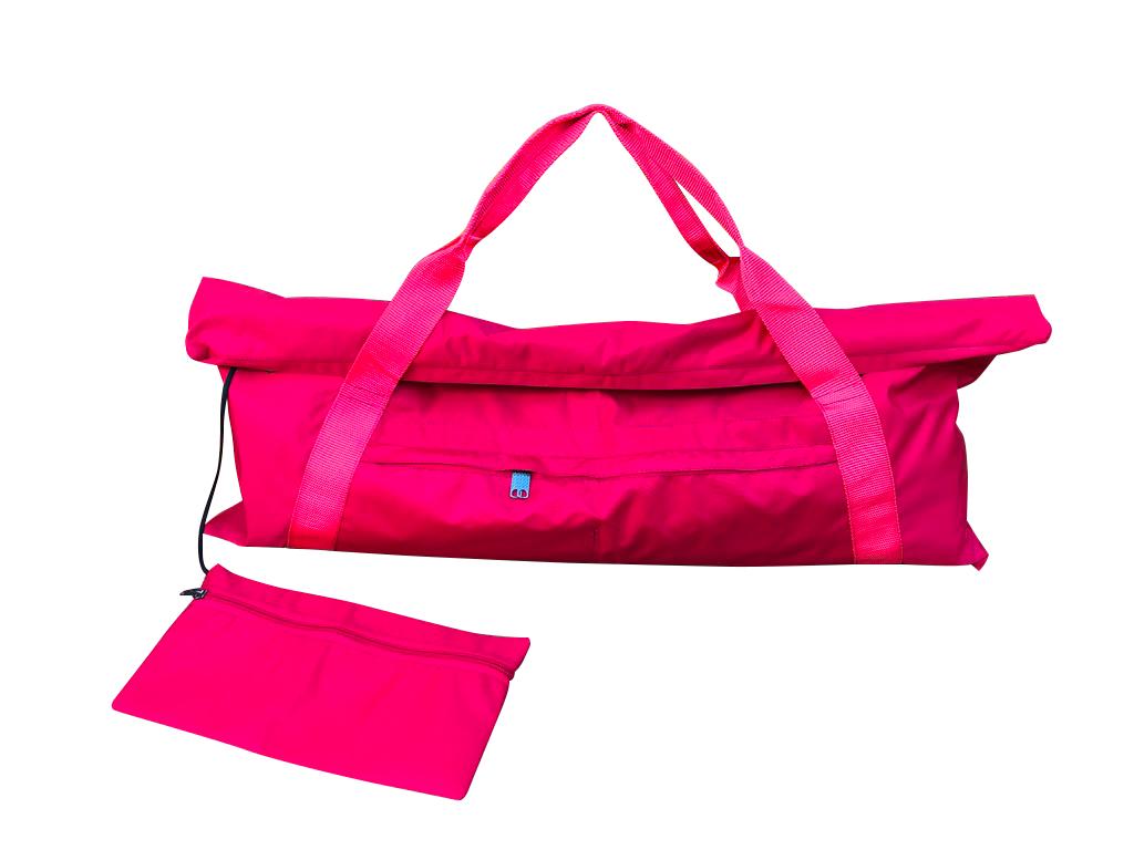 Сумка для коврика Fold Yoga Bag (0,3 кг, красный)