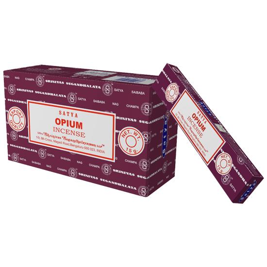 Благовония опиум opium Satya серия incense (0,05 кг, 15 г, фиолетовый) благовония аджаро ajaro satya 15 г