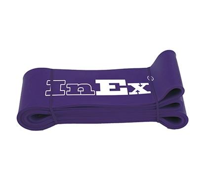 Амортизатор ленточный Superband супер сильного сопротивления, ширина 6,35см Inex (фиолетовый)