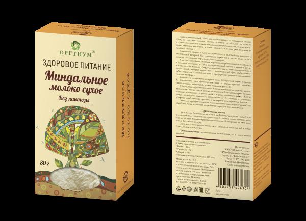 Миндальное молоко ОРГТИУМ (80 г)