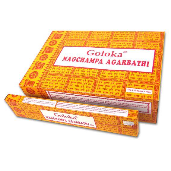 цена Благовония наг чампа nаgсhаmра agаrbаthi Goloka (0,05 кг, 15 г)