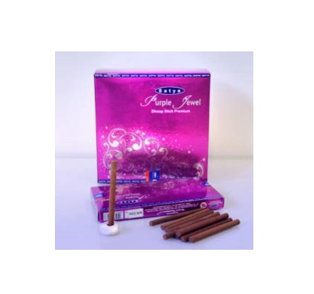 Благовония Purple Jewel dhoop stk Satya (20шт)