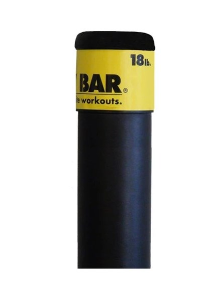 Гимнастическая палка The Body Bar Classic 8,2 кг Precor (8,2 кг, 123 см) цены онлайн