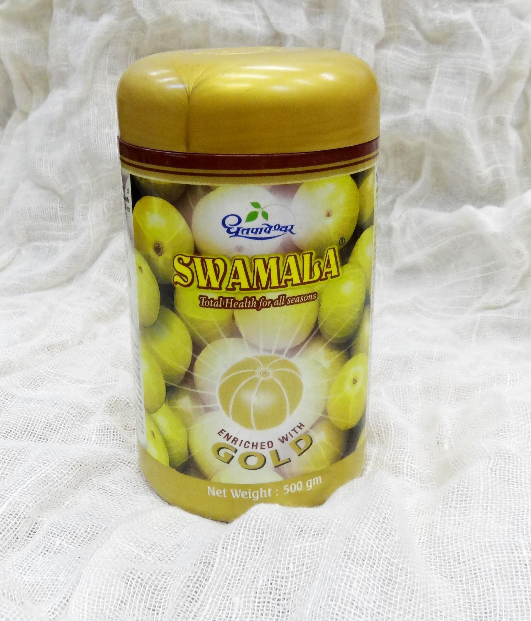 Чаванпраш Свамала/Swamala с аюрведическим золотом (Shree Dhootapapeshwar) 500г (500 г)