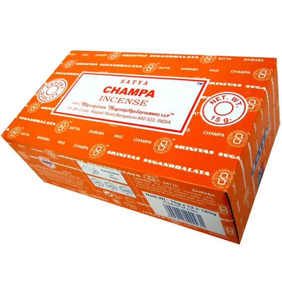 Благовония чампа champa Satya серия incense (0,05 кг, 15 г, оранжевый) благовония аджаро ajaro satya 15 г