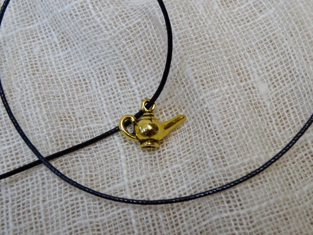 Подвеска Лампа Алладина для браслетов (желтый)