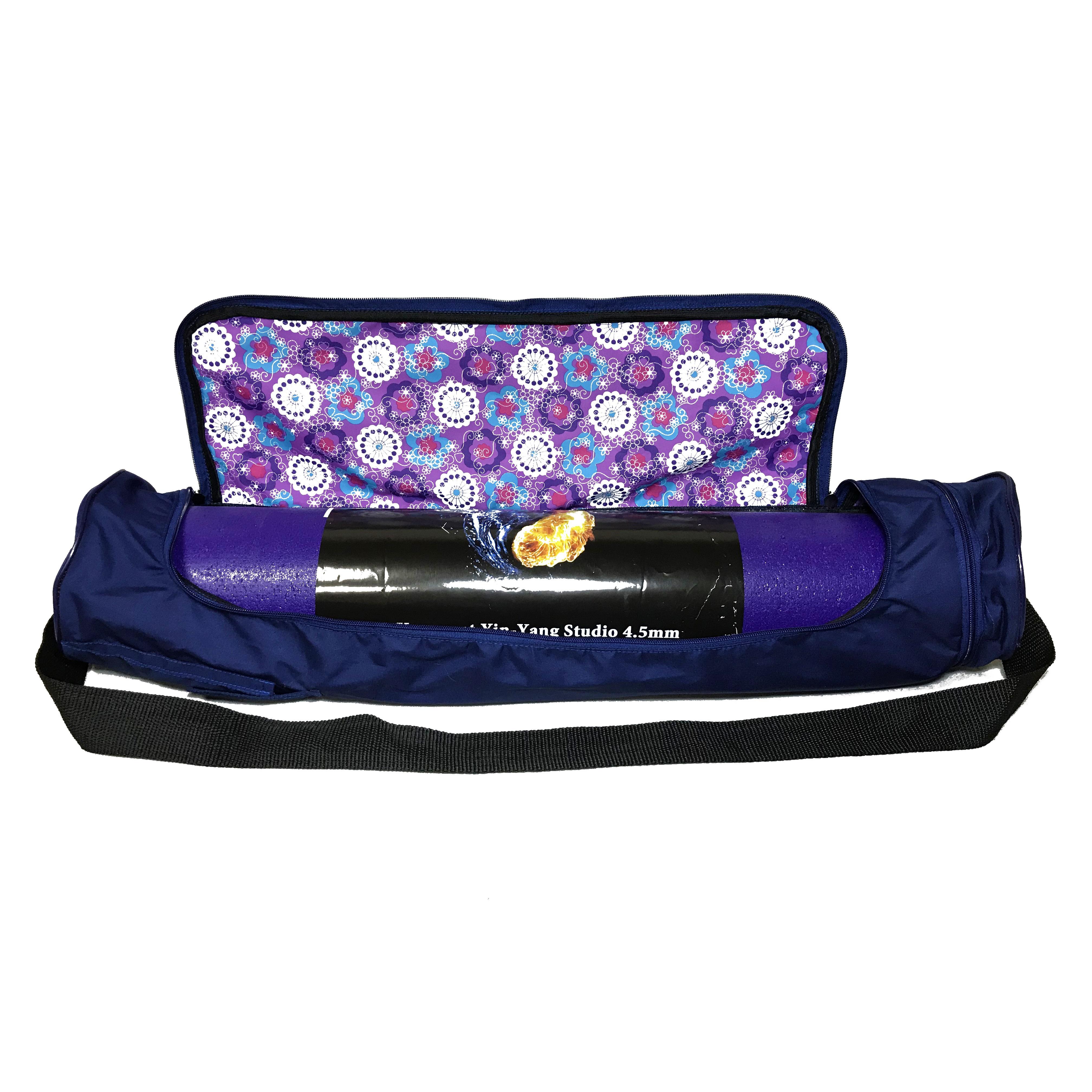 Чехол для коврика Torba Yoga Bag (0,3 кг, темно-синий)