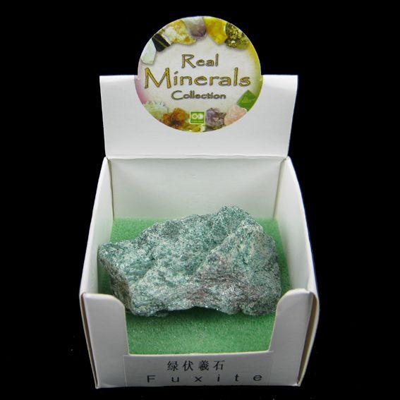 Фуксит минерал/камень в коробочке Real Minerals Collection турмалин минерал камень в коробочке real minerals collection