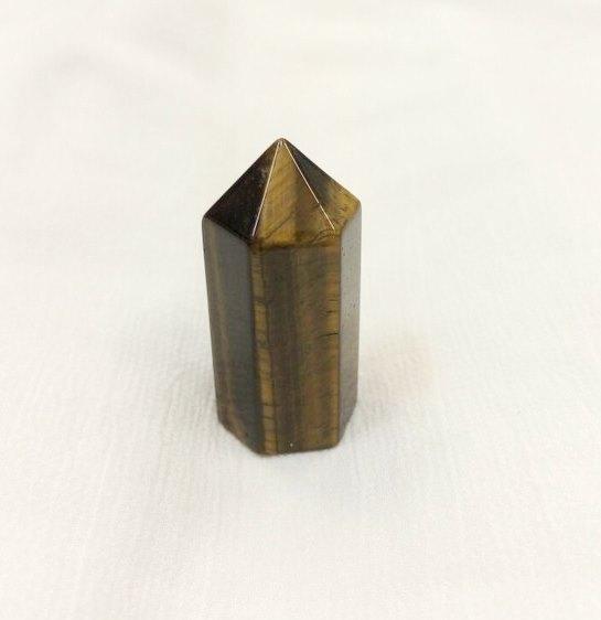 Мини тигровый глаз цилиндр минеральный гармонизирующий (кристалл) 3,5 см (3,5 см)