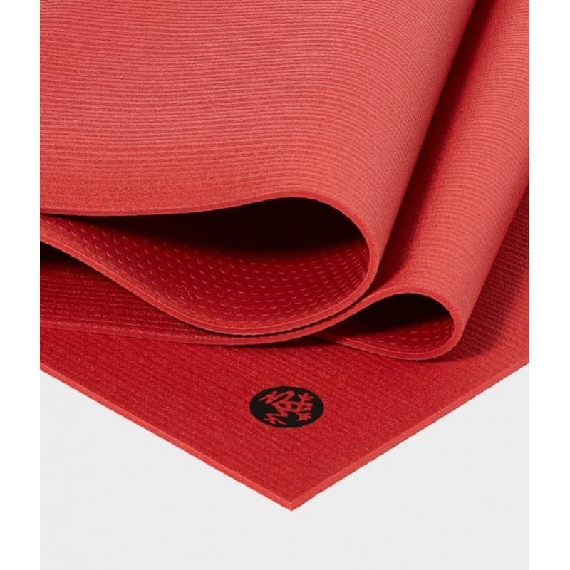 Коврик для йоги Manduka PROlite Mat 4,5мм Limited Edition (2 кг, 180 см, 4.5 мм, красный, 60см (Taana))
