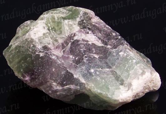 Флюорит радужный минерал/камень в коробочке Real Minerals Collection