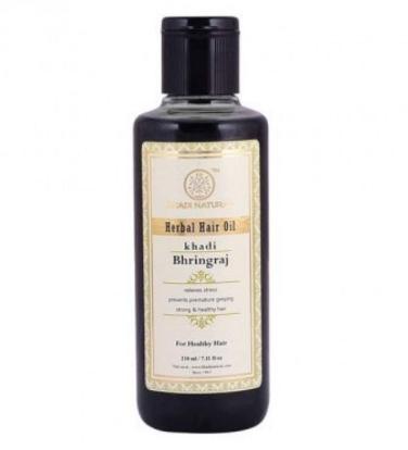 Масло для волос брингарадж Khadi Natural (210 мл) недорого