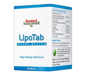Таблетки для нормализации уровня холестерина в крови Lipotab Hamdard (60 шт.)