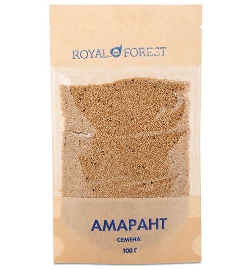 Семена амаранта Royal Forest (100 г) кэроб обжаренный royal forest 200 г