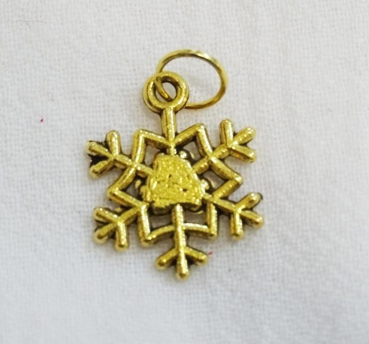 """Подвеска Снежинка для браслетов (Подвеска для браслетов """"Снежинка"""") набор для изготовления браслетов 4m оригинальные подвески"""