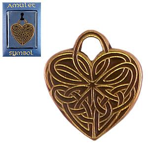 Амулет сердечные узлы притягивает любовь, привязывает любимого, устраняет разногласия. (№89)