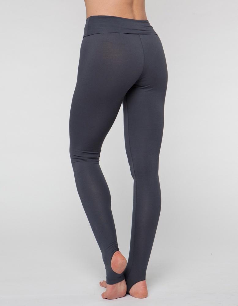Леггинсы с открытой пяткой Fit Flow YogaDress (0,3 кг, L(48), серый  дымчатый)