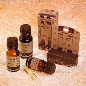 Березовый деготь 10мл эфирное масло Ботаника