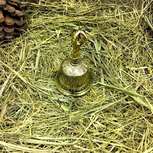 Колокол латунный 12 см (Нет, 6 см)